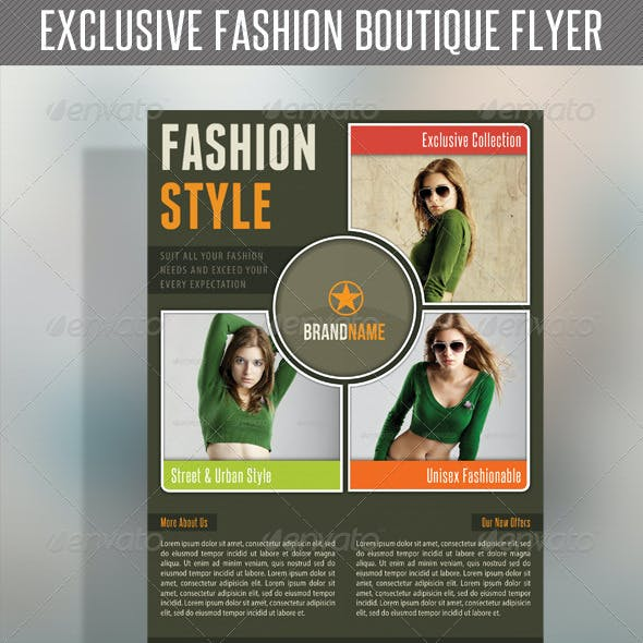 Fashion Product Flyer 20