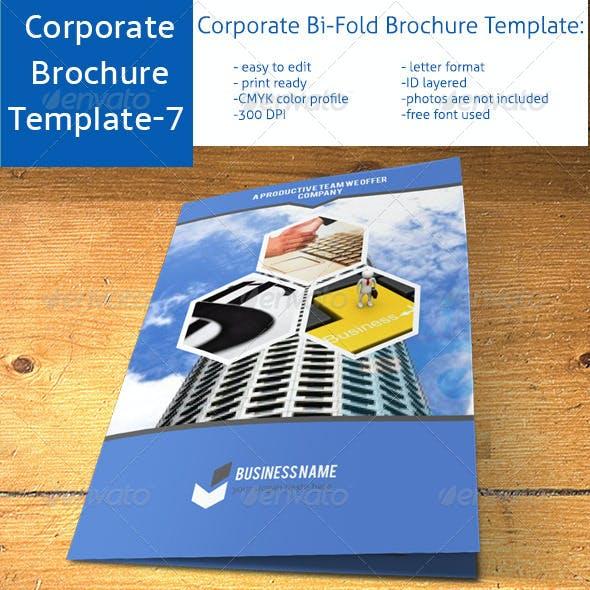 Corporate Bi-Fold Brochure Template-7