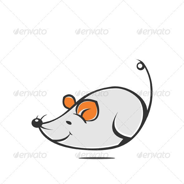 Happy Running Rat