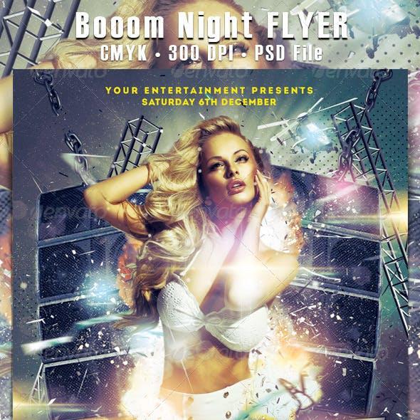 Booom Night Flyer
