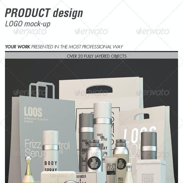 Product Design Logo Mock-up