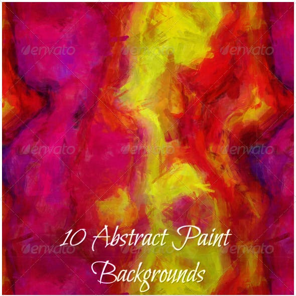 10 Abstract Paint Backgrounds