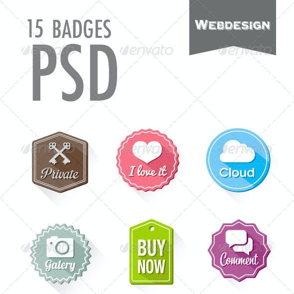 15 Badges