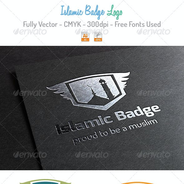 Islamic Badge Logo