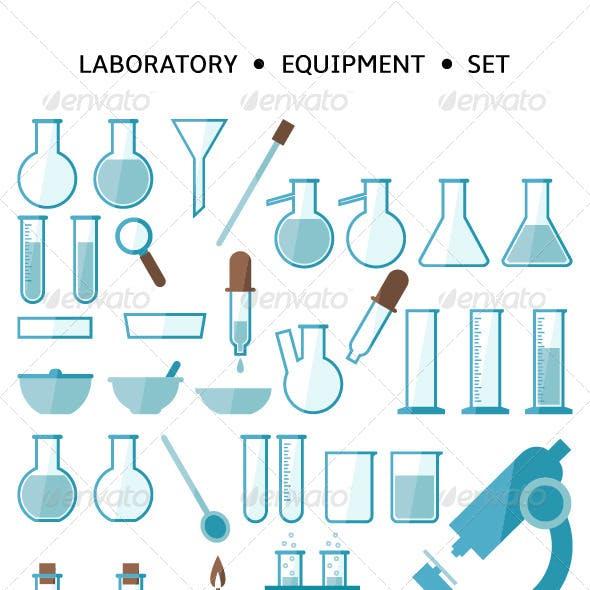 Laboratory Equipment Set