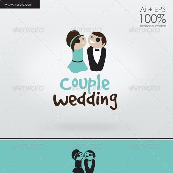 Couple Wedding Logo