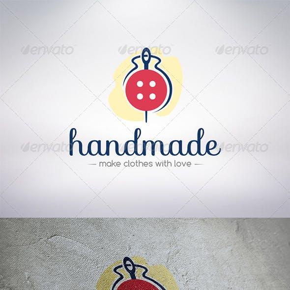 Handmade Clothing Logo Template