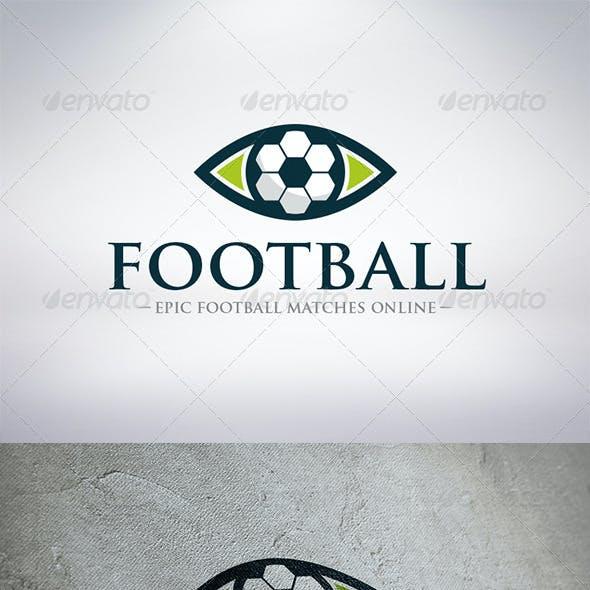 Watch Football Logo Template
