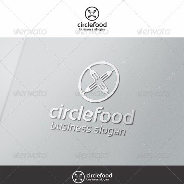 Circle Food Logo