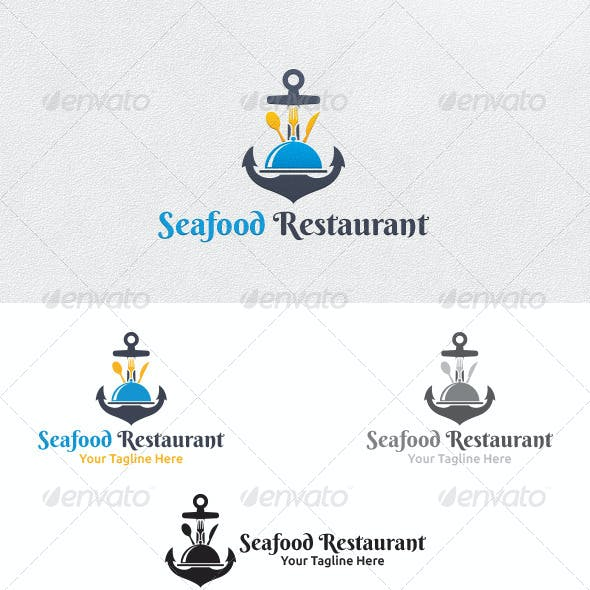 Seafood Restaurant - Logo Template