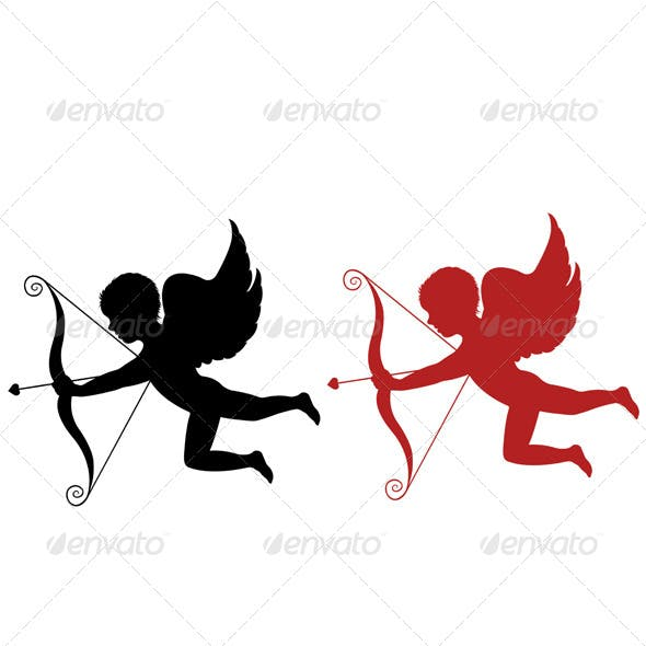 Red and Black Cupid