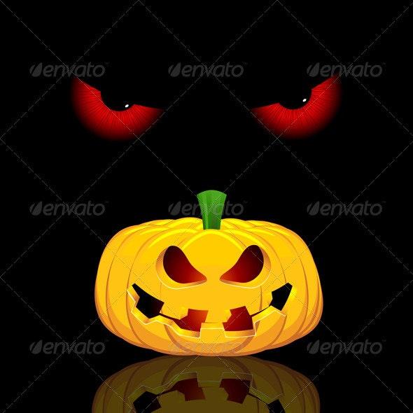 Spooky Halloween Background - Halloween Seasons/Holidays