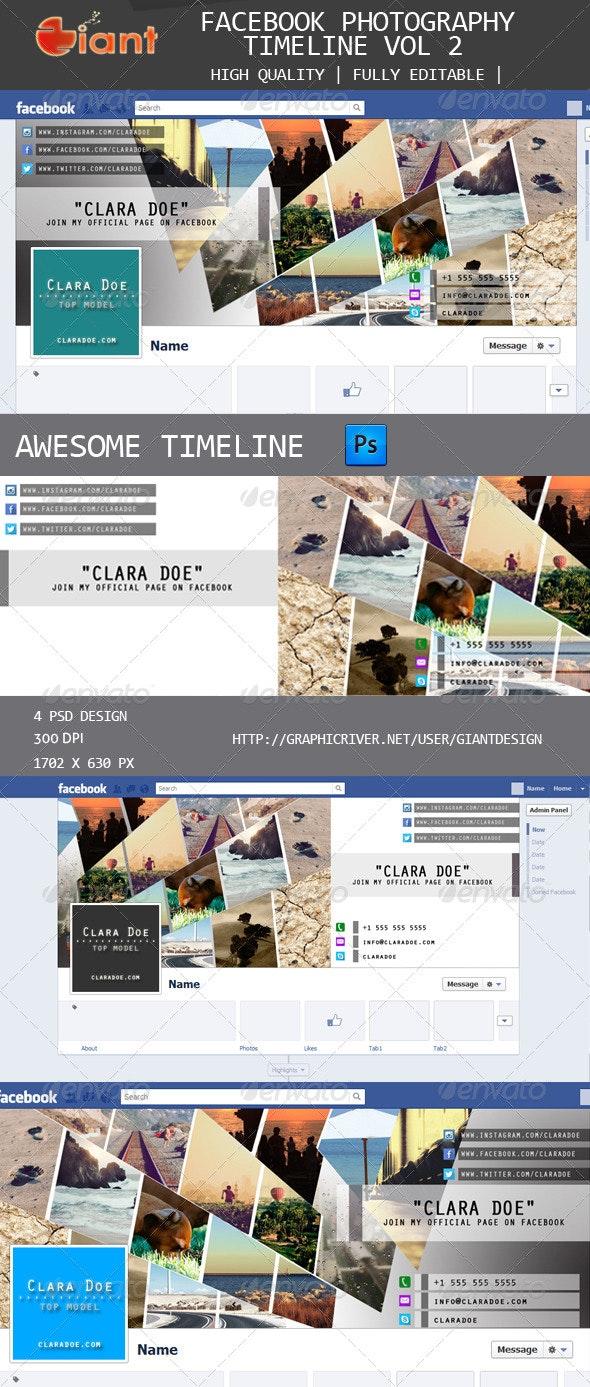 Fb Photography Timeline Vol 2 - Facebook Timeline Covers Social Media