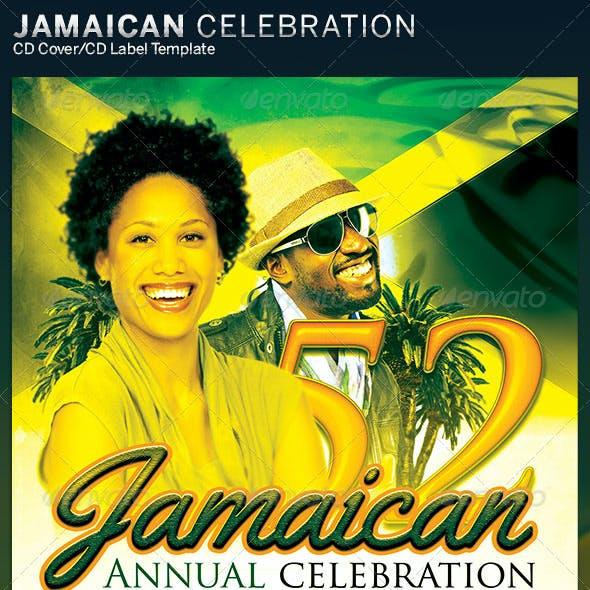 Jamaica Independence Music CD Artwork Template
