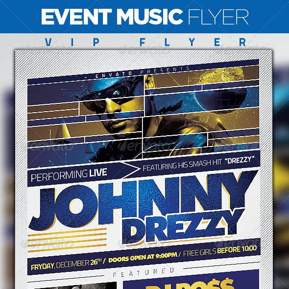 Event Music Flyer