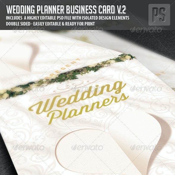 Wedding Planner Business Card V.2