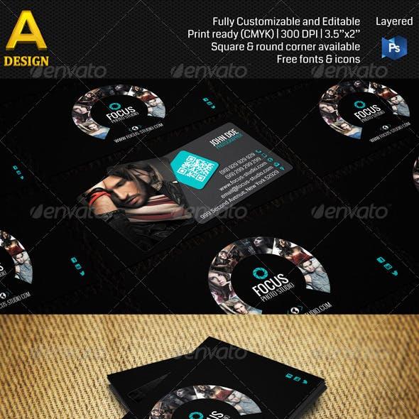 Photo Studio Business Card AN0114