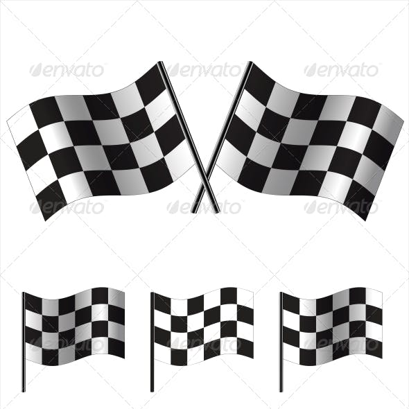 Checkered Racing Flags