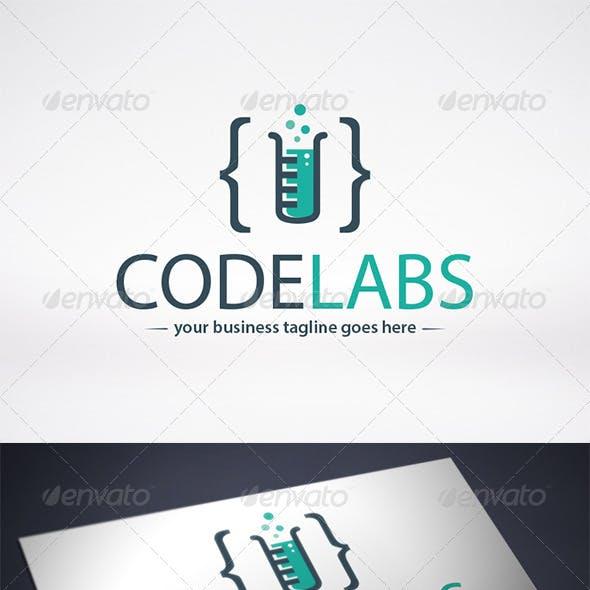 Code Lab Logo Template