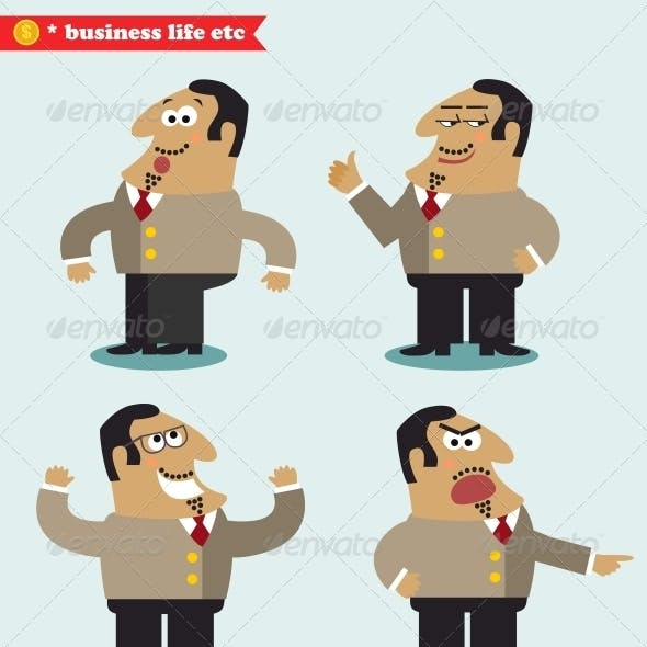 Boss Emotions in Poses