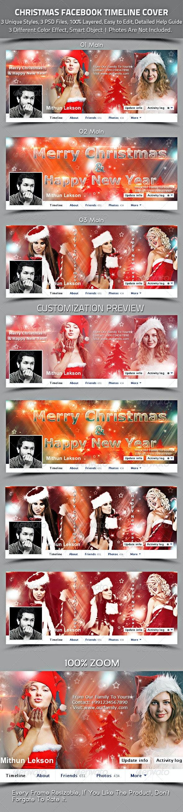 Christmas Facebook Timeline Cover - Facebook Timeline Covers Social Media
