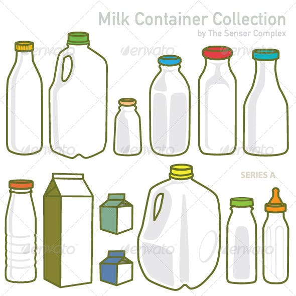 Milk Container Collection