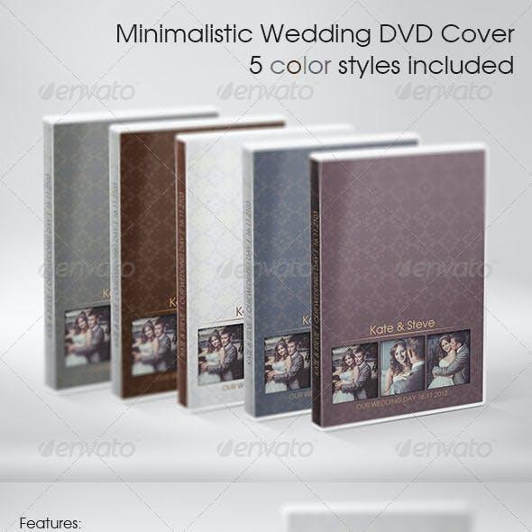 Minimalistic Wedding DVD Cover