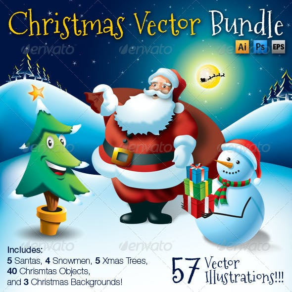 Christmas Vector Bundle