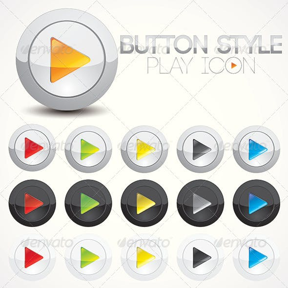 Button Style Play Icon