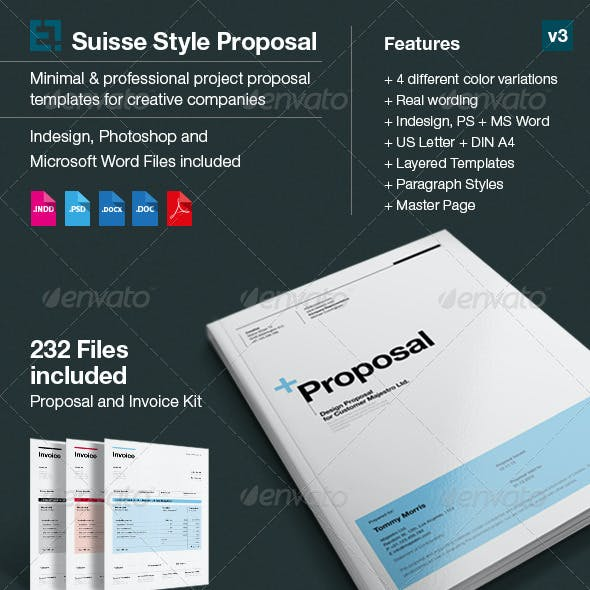 Business Proposal & Invoice Templates from GraphicRiver