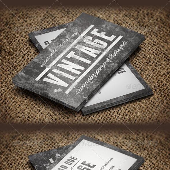 Vintage Grunge Business Cards