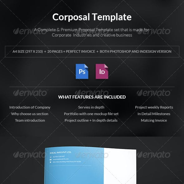 Corposal - A Corporate Porposal Template