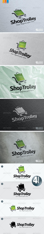 Shop Trolley - Objects Logo Templates