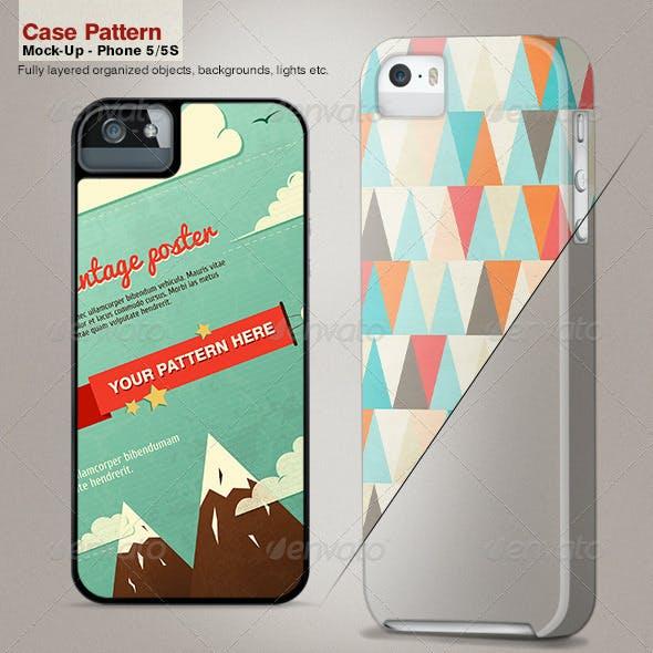 Case Pattern Mock-Up / Phone 5/5S