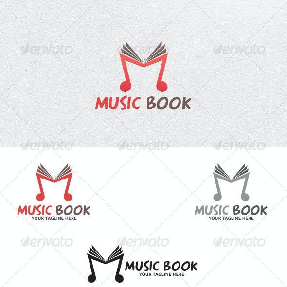 Music Book - Logo Template
