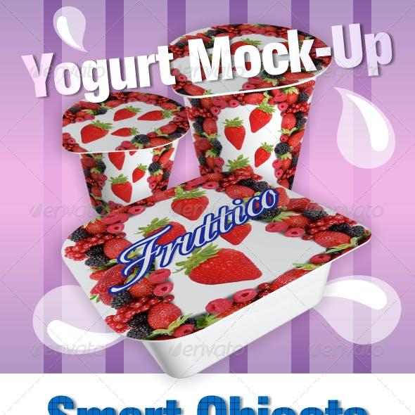 9 Yougurt Mock-Ups