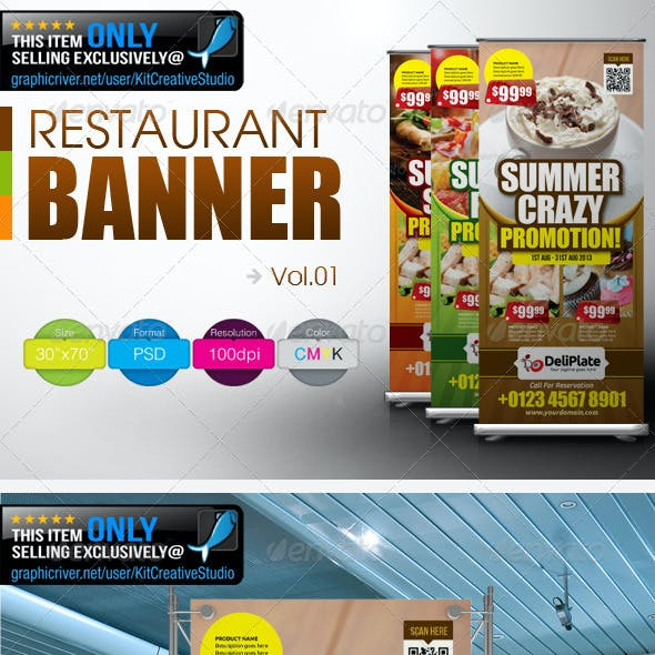 Restaurant Banner Vol.1