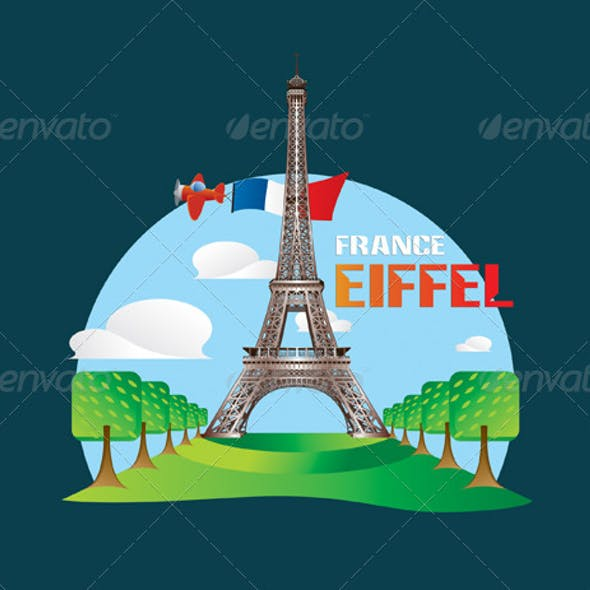 Eiffel Tower Vectors From Graphicriver