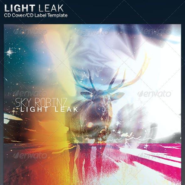 Light Leak: CD Cover Artwork Template