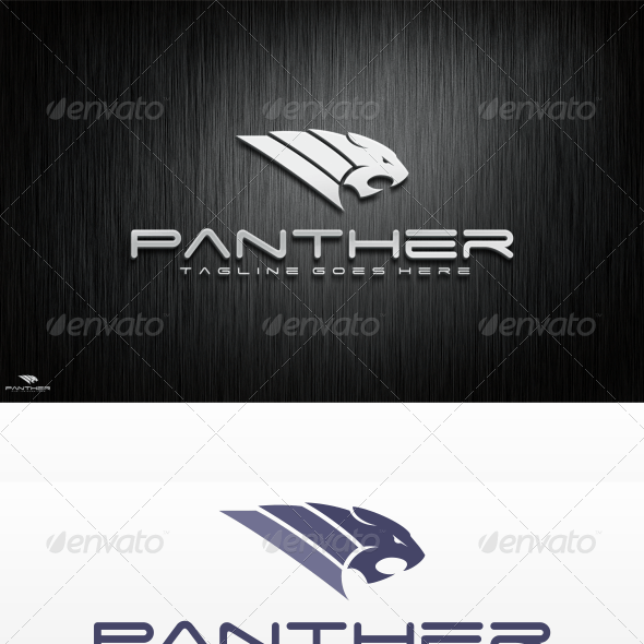Panther Logo Template