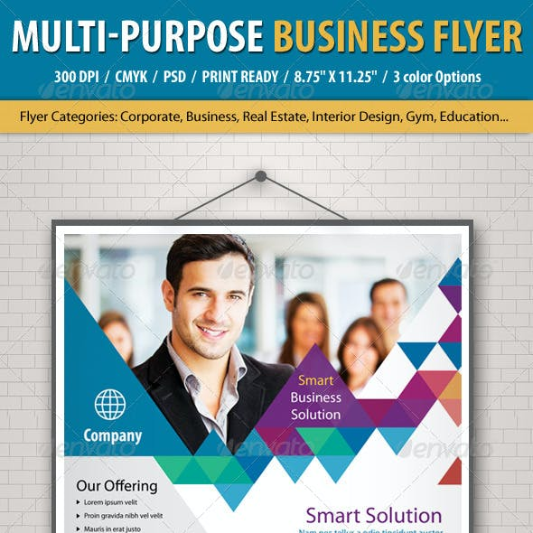Multi Purpose Business Flyer