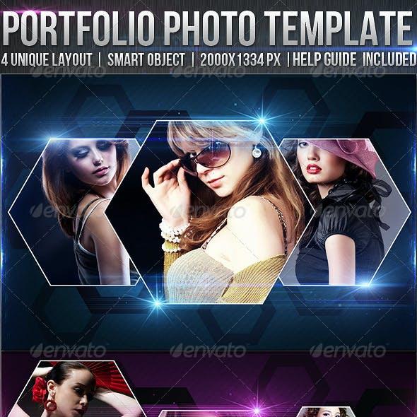 Portfolio Photo Templates