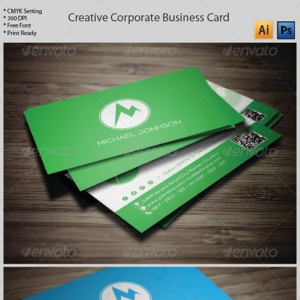 Creative Corporate Business Card -15