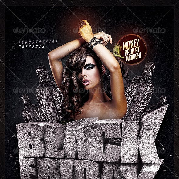 Black Friday PSD Flyer
