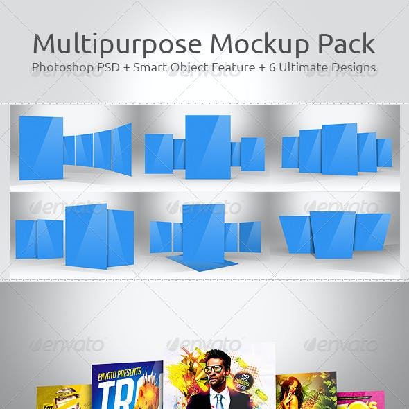 Multipurpose Mockup Pack 5