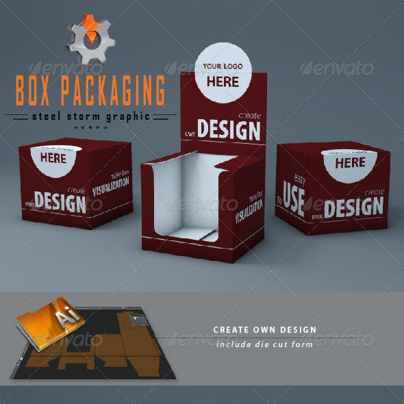 3D Box Packaging