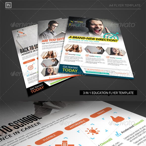 New Direction Education - Business Flyer