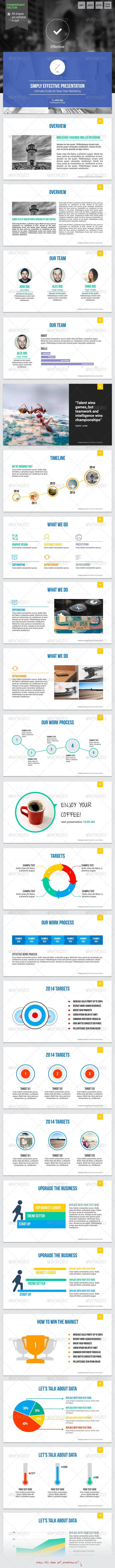 Effective 2 - Powerpoint Template - PowerPoint Templates Presentation Templates