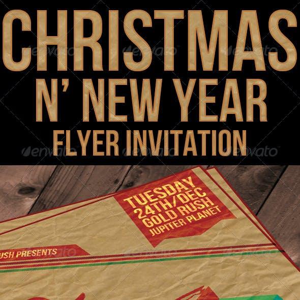 Christmas n' New Year Flyer / Invitation