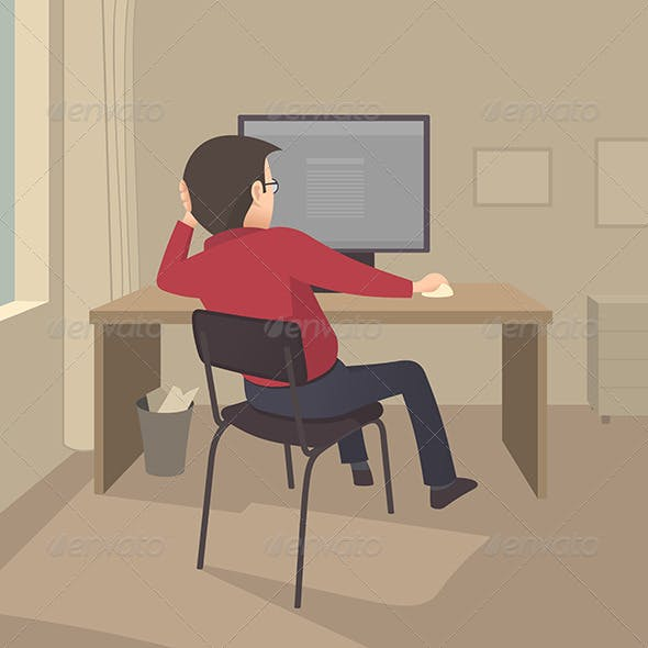 Work at the Computer